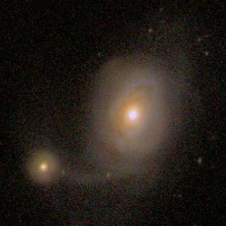 NGC 7603 and 7603B optical