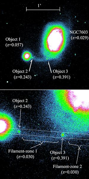 NGC 7603 and 7603B R-band