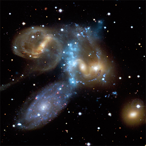 Stephan's Quintet x-ray-optical