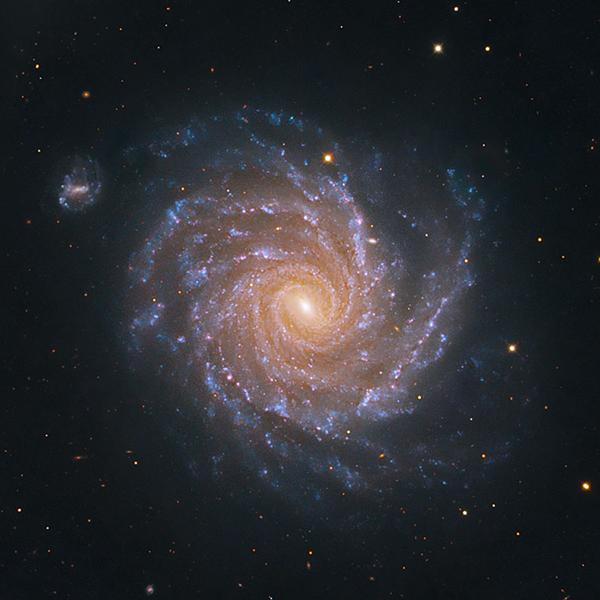 NGC 1232 and NGC 1232A